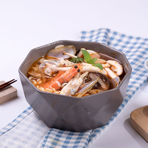 宜百味泡面小食堂-海鲜拉面