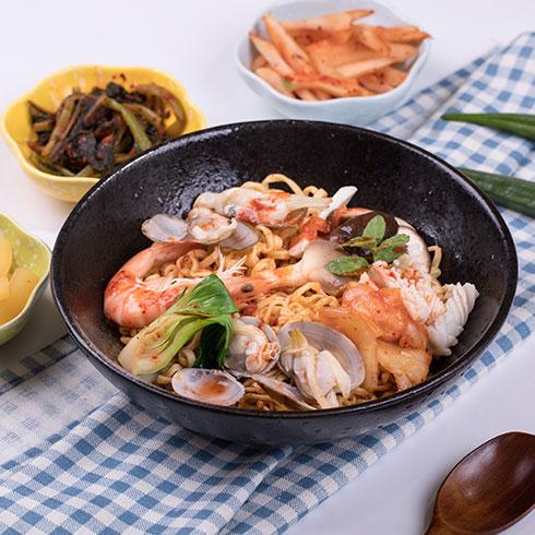 宜百味泡面小食堂-韩式海鲜乌冬面