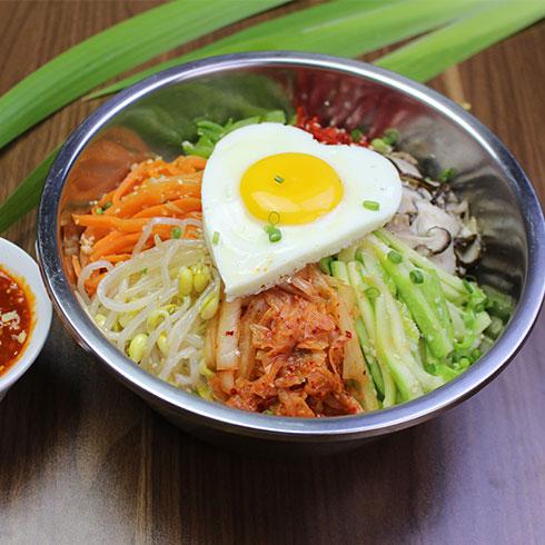 串串婆婆串串香小吃-韩式拌饭