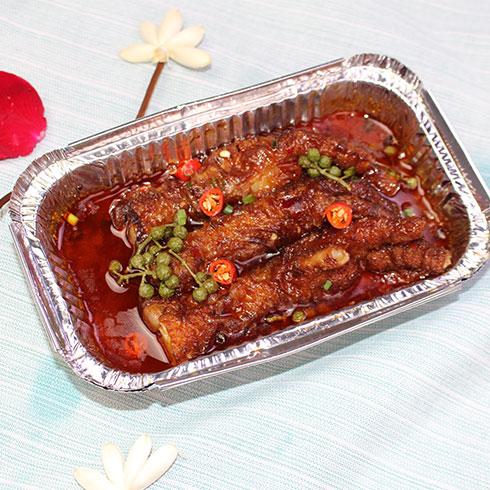 串串婆婆串串香小吃-锡纸麻辣鸡爪
