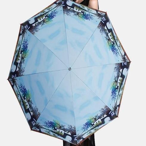 水跃-水墨画伞
