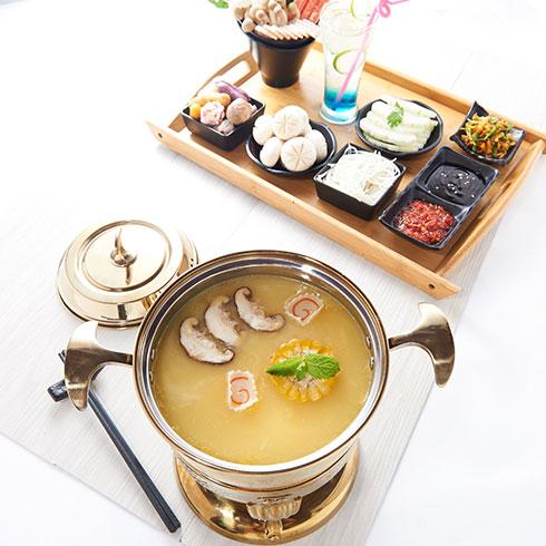 嗲嗲鱼粉-日式味增汤汤底