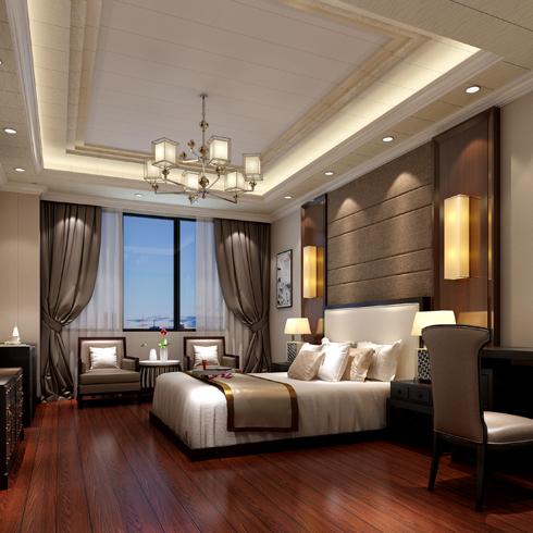 简豪全屋整装-卧室木地板