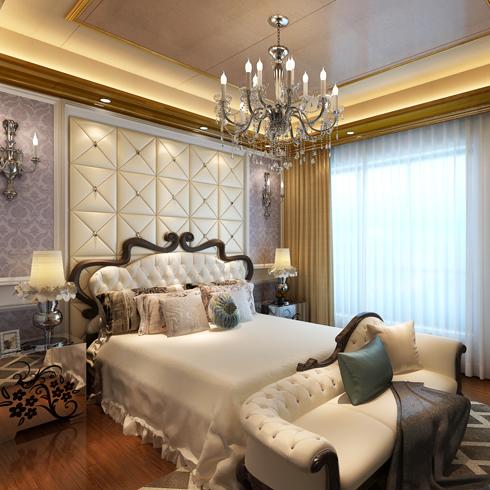 简豪全屋整装-豪华欧式卧室