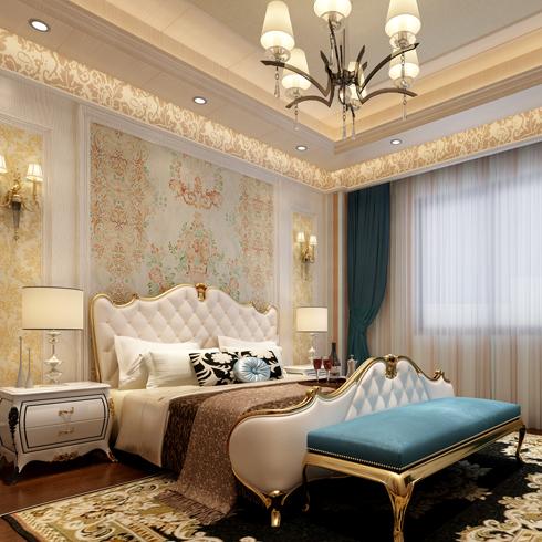 简豪全屋整装-欧式简约风格卧室