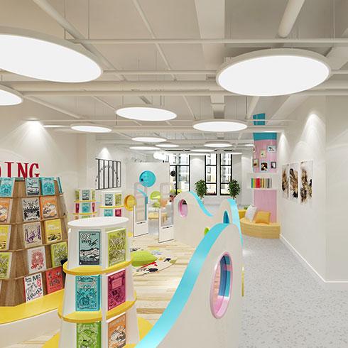 博雅公学儿童成长中心-图书室环境