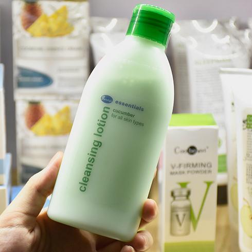 小资生活化妆品-小黄瓜清爽卸妆乳洁面乳
