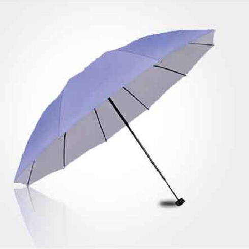 宏胜伞业-淡紫色折叠伞