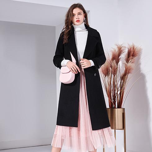 艾丽哲女装-简欧质感羊绒大衣