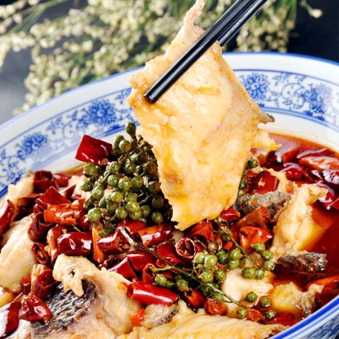 非渔莫蜀酸菜小鱼-藤椒鱼