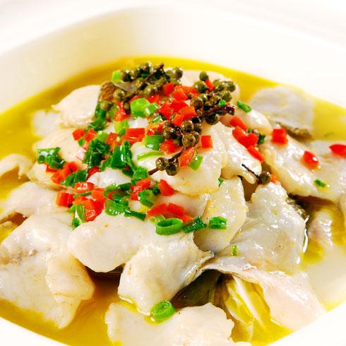 非渔莫蜀酸菜小鱼-金汤鱼