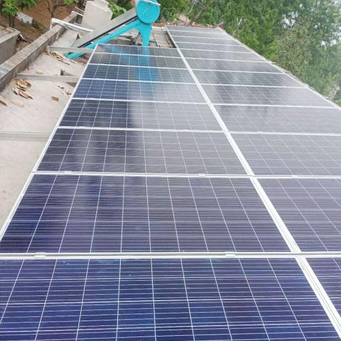 中科联建光伏发电-光电一体化太阳能热水器