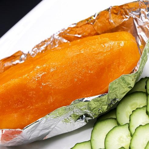 泉城烤薯特色小吃-芒果烤薯