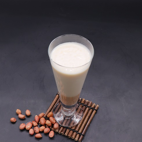 泉城烤薯特色小吃-花生牛乳茶