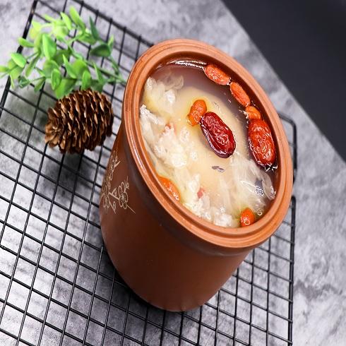 泉城烤薯特色小吃-煨梨冻
