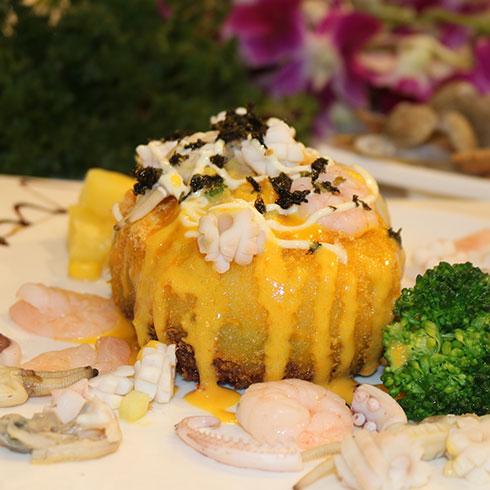 京百味快餐-海鲜章鱼丸