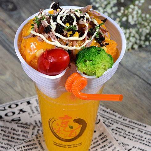 京百味快餐-起司杯
