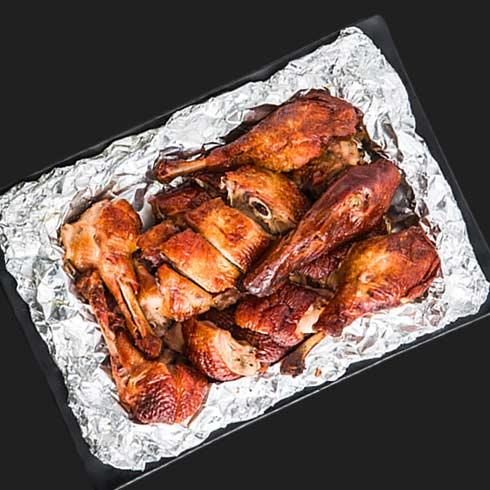 叫个鸭子小吃-招牌烤鸭