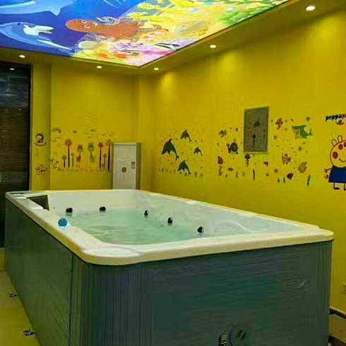 童博士婴幼儿游泳馆-亚克力婴儿游泳池