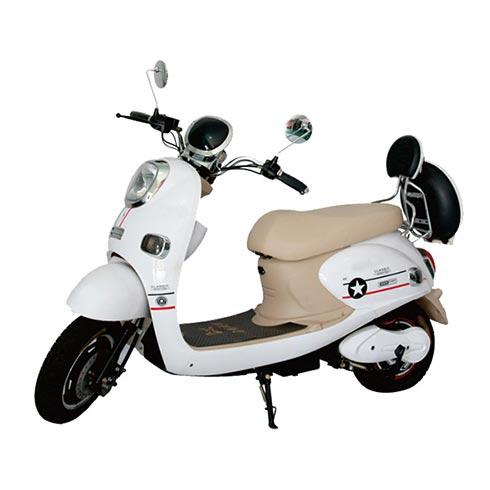 星概念电动车-白色时尚电动车