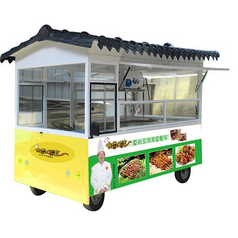 食尚主流美食车-烧烤美食车