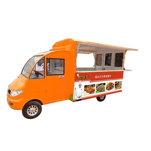 食尚主流美食车-油炸小吃车
