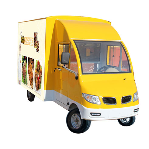 食尚主流美食车-铁板烧美食车
