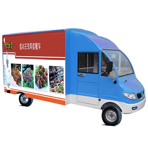 食尚主流美食车-酸辣粉美食车