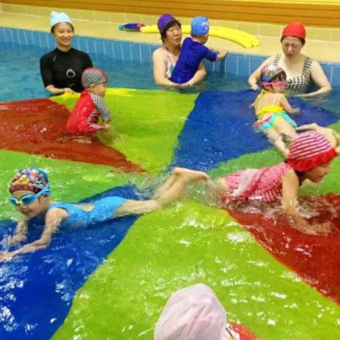 蓝月儿的水世界-亲子游泳场所
