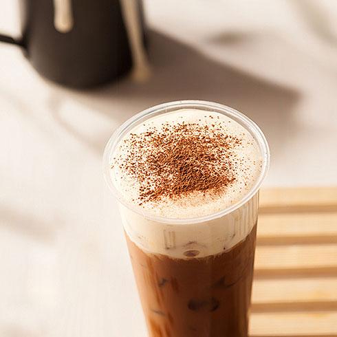 私蜜茶茶饮-焦糖奶茶奶盖