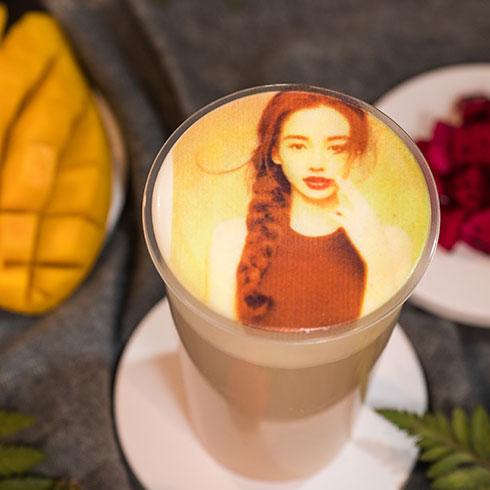 私蜜茶茶饮-3D打印奶盖