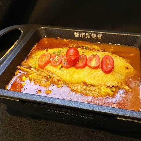 青馋口小份烤鱼-番茄烤鱼
