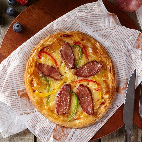 拾佳客披萨-秘制鸡脯酥披萨