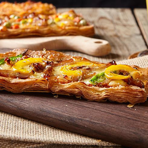 拾佳客披萨-掌上酥肉披萨