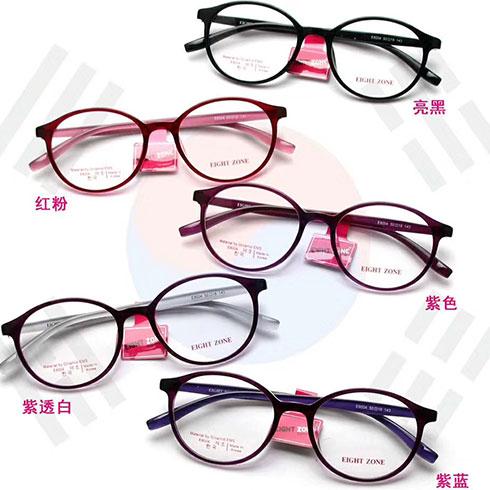 思齐视光眼镜-圆形框近视眼镜
