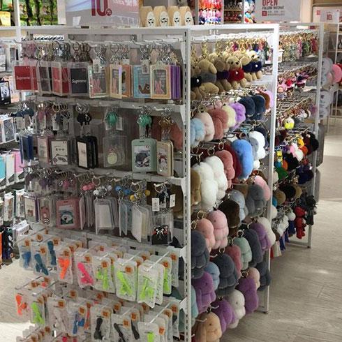 名潮优品潮品店-毛绒玩具钥匙链