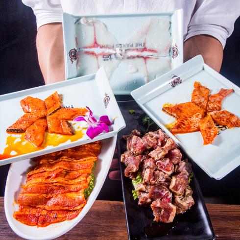 巴色鱼捞火锅-新鲜食材