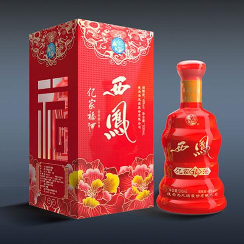 西凤酒1956白酒-亿家福酒
