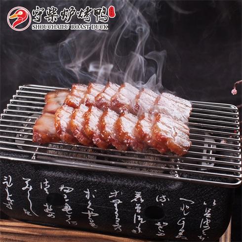 守柴炉烤鸭-秘制烤肉