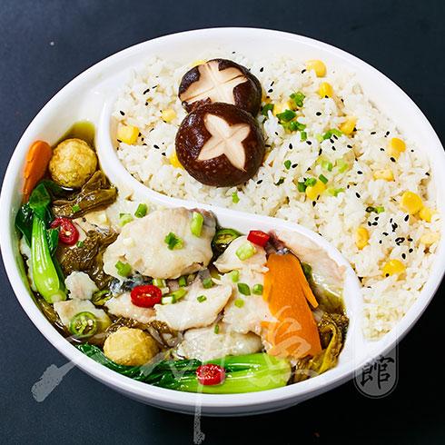 厅外鱼皇江湖鱼面馆-酸菜鱼饭