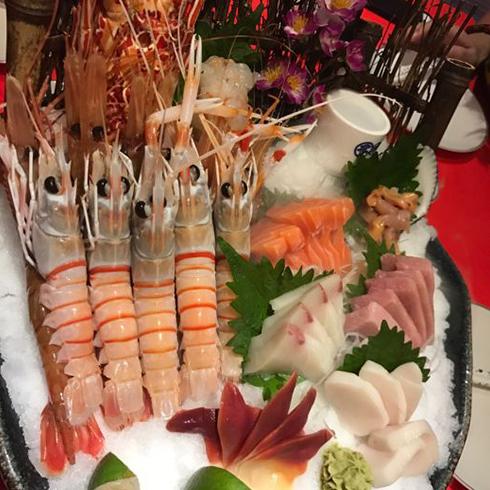 汉釜宫烤肉-海鲜刺身拼盘
