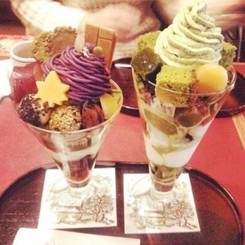 焗芝恋小吃-缤纷冰淇淋