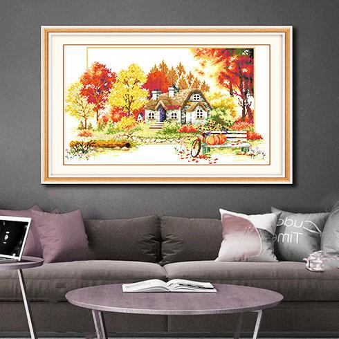 冰彩活画空间装饰-客厅装饰图