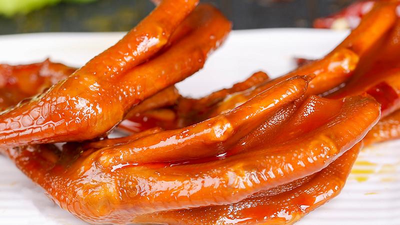 绿源谷零食小铺-特色卤鸭爪