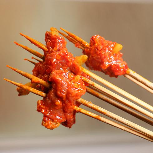 耍哥串串香-野山椒牛肉