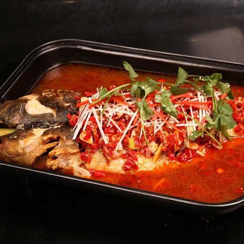 巫山烤鱼-剁椒烤鱼