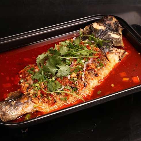 巫山烤鱼-鱼葱味烤鱼