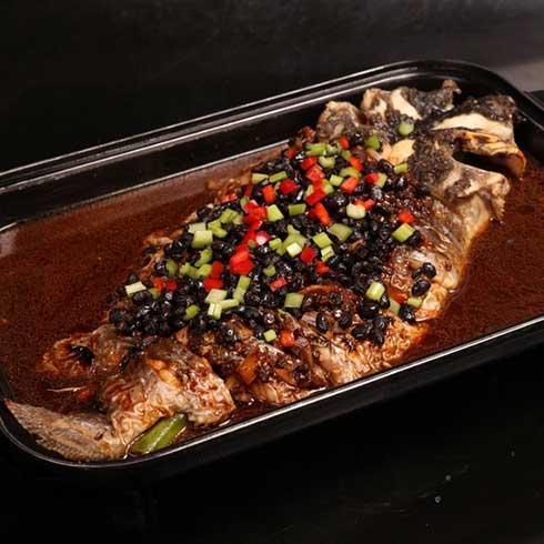 巫山烤鱼-豆豉烤鱼