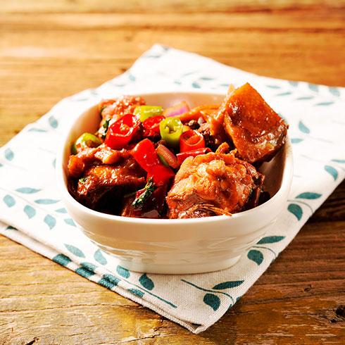 吉东家炝锅卤肉饭-炝锅卤肉