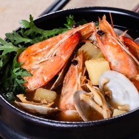 转海鲜大酱汤